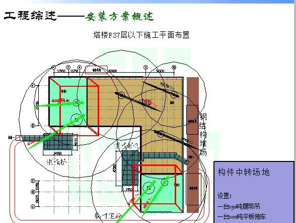 [中建]CCTV主楼倾斜超高层钢结构综合施工技术(共138页)