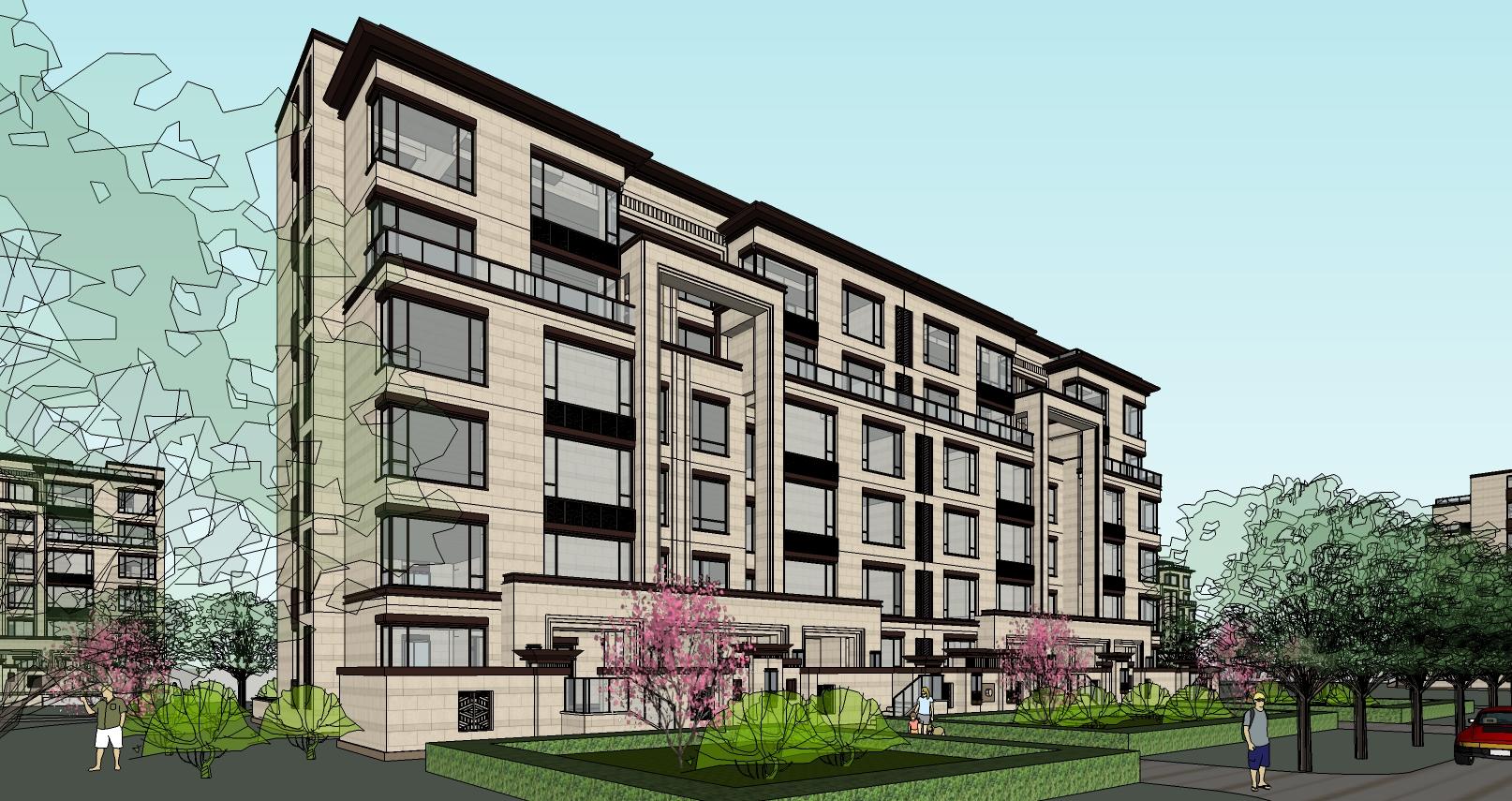 新亚洲风格_新亚洲风格住宅建筑模型