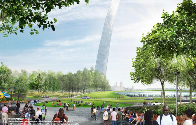 国外前沿建筑设计事务所竞标方案5组-CITYARCRIVER
