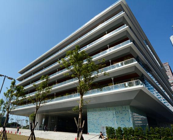 高雄市立图书馆总馆全悬吊结构设计