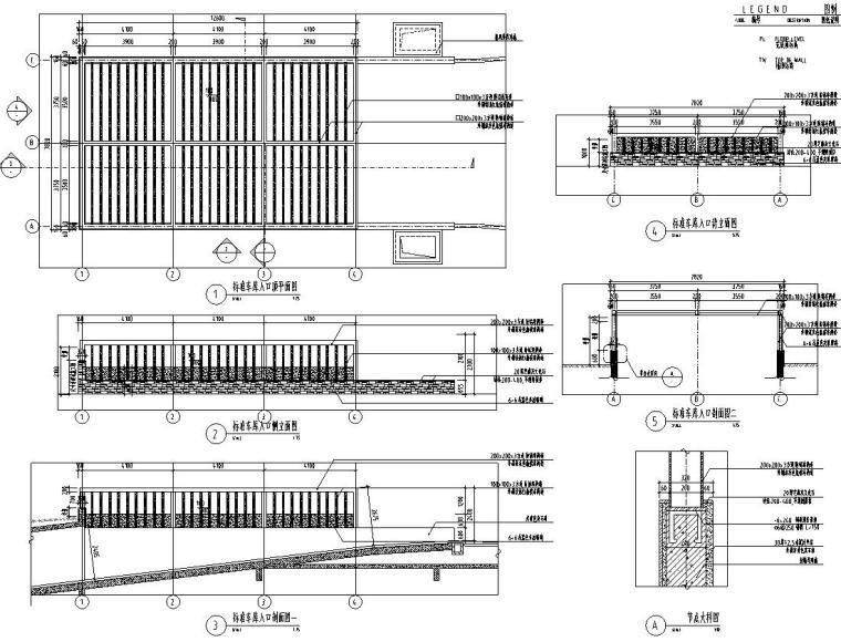[浙江]万科非示范区景观方案设计施工图(46个CAD)