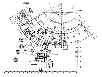 【福建】某休闲度假酒店设计CAD施工图(含效果图)