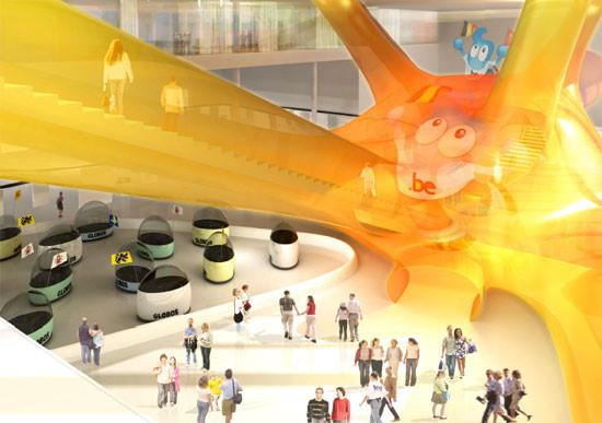 [上海]2010世博会比利时馆建筑方案设计(含cad图纸+效果图等)