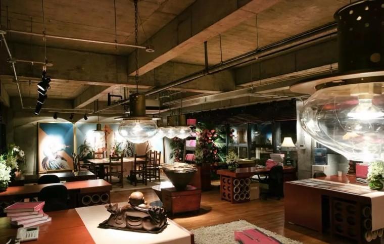 上海现代感的老场坊博览馆室内实景图 (8)
