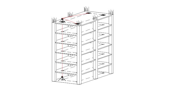 文化中心建设项目测量放线施工方案