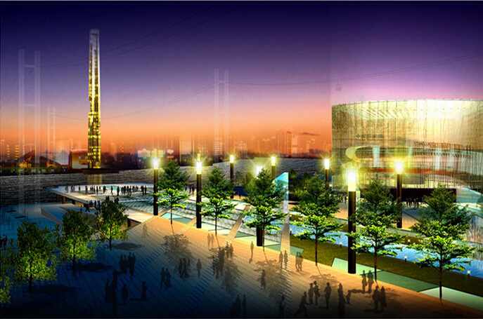 上海世博会规划设计方案文本-08效果图