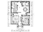 中式古典风别墅设计施工图(附效果图)