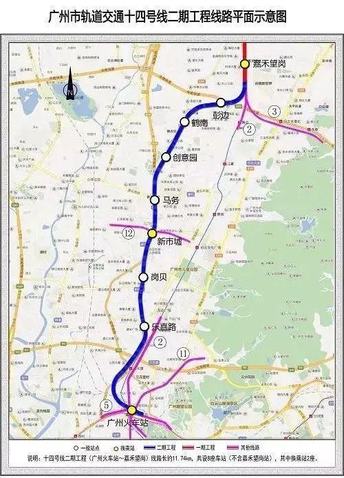 1000多亿!广州6条地铁开工,你们准备好了吗?_8