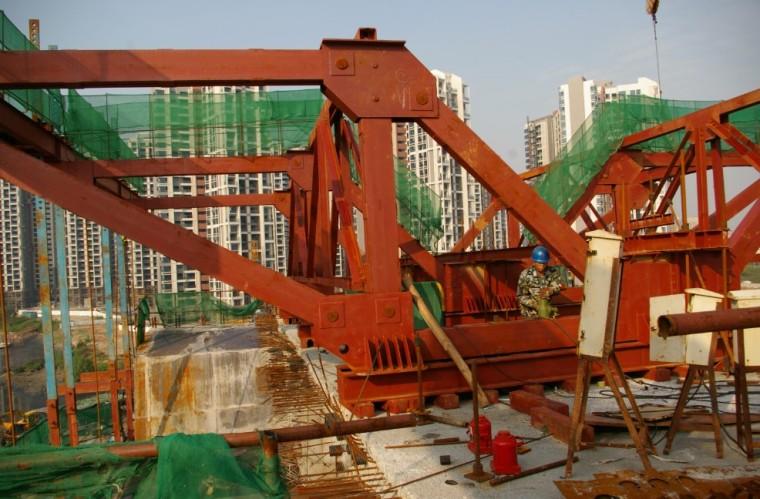 挂篮、钢便桥专项方案审查技术要点(PPT,65页)-场地拼装