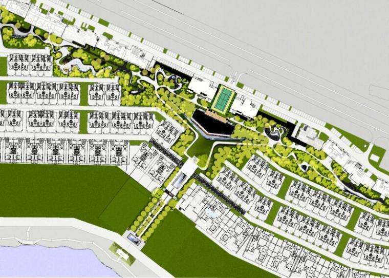 [江西]知名地产南昌青山湖名邸景观设计方案(PPT+218页)-平面图