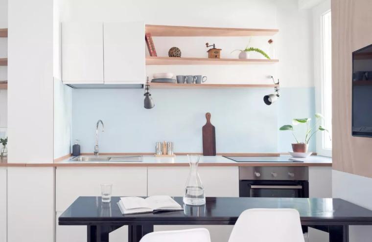 厨房比客厅还好看,让你爱上做饭!!_26