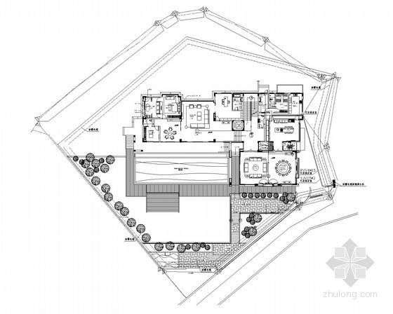 [福建]高档别墅楼智能化项目施工图