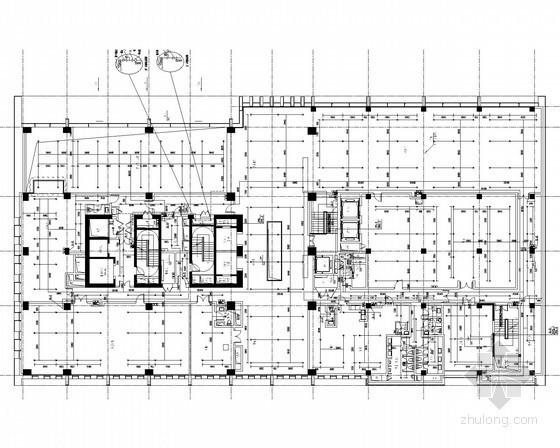 [上海]高层酒店给排水消防施工图(太阳能热水系统 )