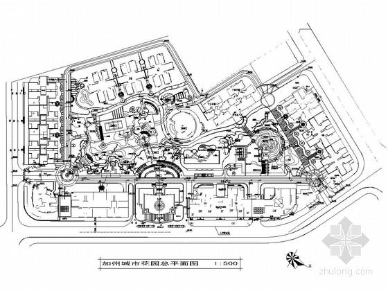 [重庆]生态型城市小区景观规划设计施工图