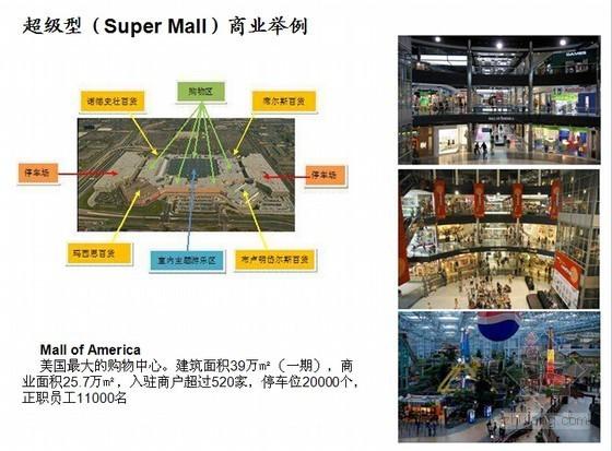 [零基础入门]房地产基础知识培训精讲讲义(图文丰富)-超级型(Super Mall)商业举例