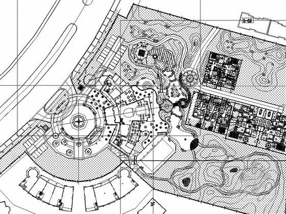 [沈阳]文化商业区园林景观工程园建施工图