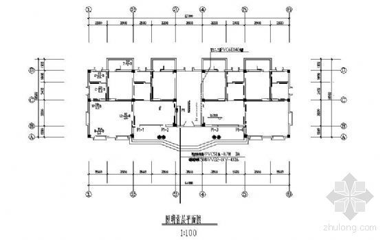 宁夏地区框架结构图资料下载-高雷爆地区基层站所电气防雷图