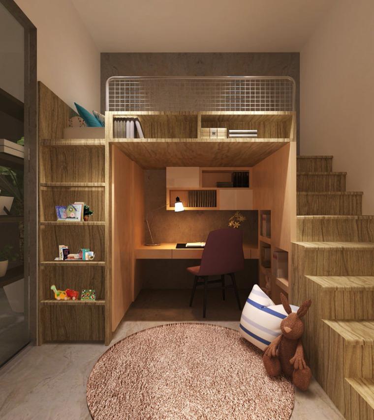 谁说青少年卧室最难设计?呶这里有14个例子_10