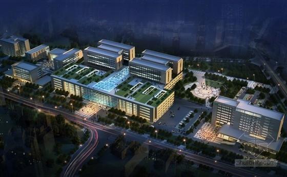 [重庆]现代科技化综合医院建筑设计方案文本(丘陵地貌)