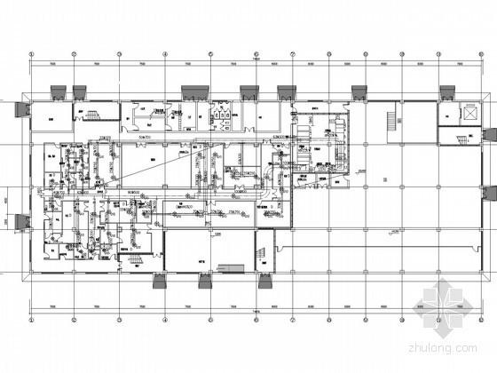 [安徽]医药车间空调通风及防排烟系统设计施工图(洁净设计)