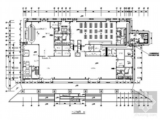 [重庆]某机场航站综合楼室内装修图