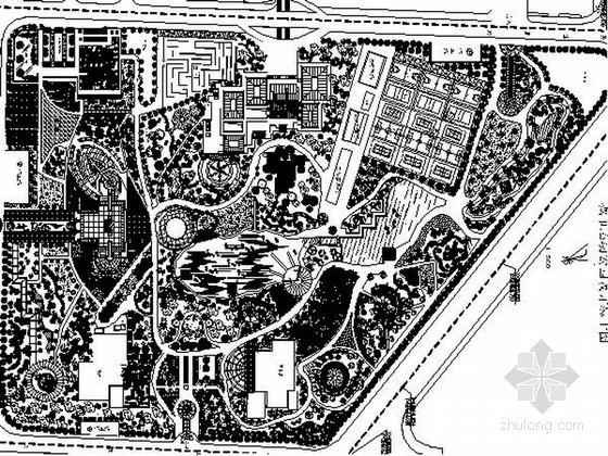 某地城市运动公园景观设计施工图