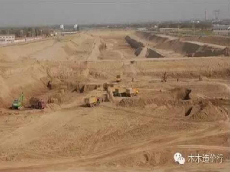 大开挖土方的一般土方计算考虑放坡么?