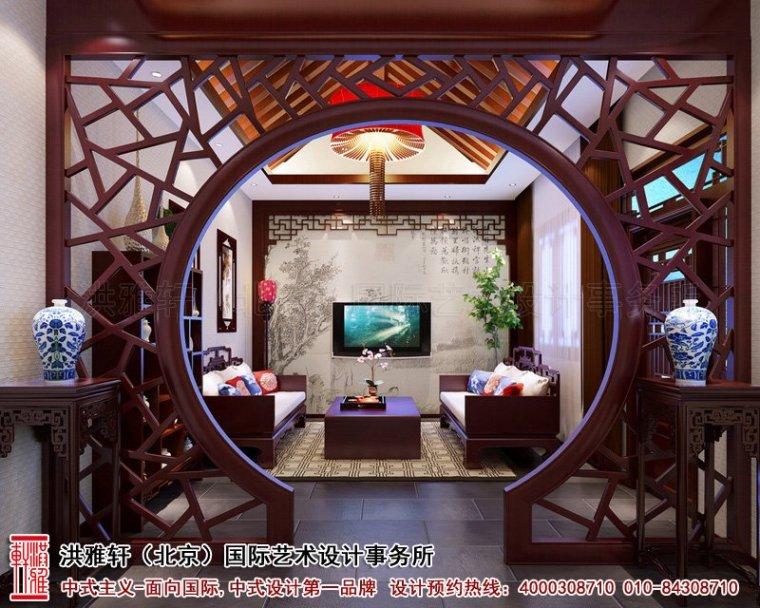 古典神韵的江西四合院中式装修效果图案例_4