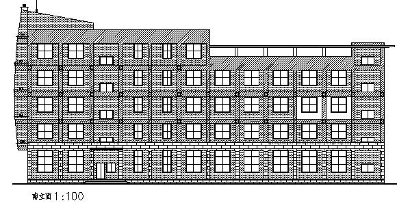 各种办公楼和综合楼施工图(64套项目)