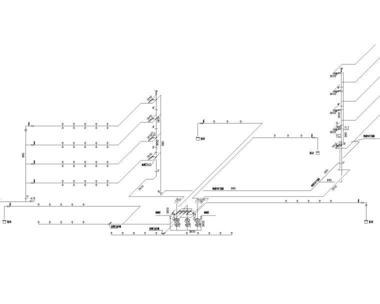 [上海]城投自用办公楼施工图给排水设计系统图