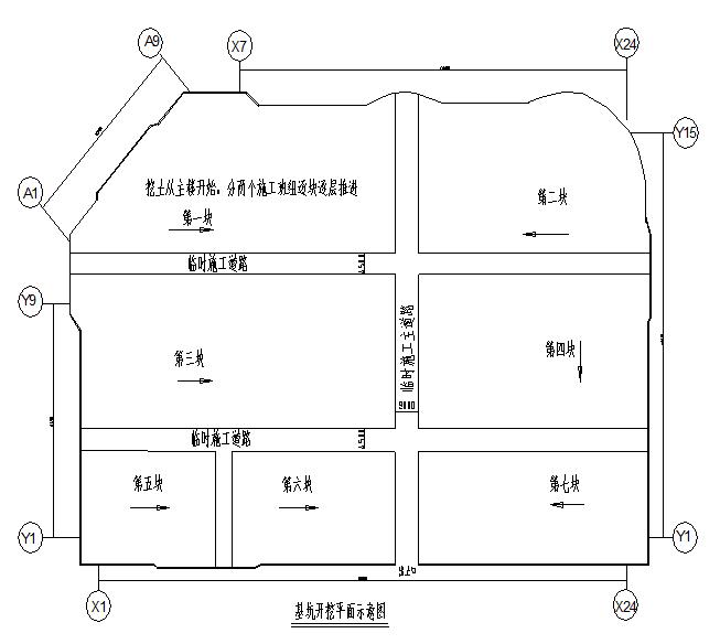 医疗中心基坑围护及土方开挖方案(钻孔灌注桩基础)