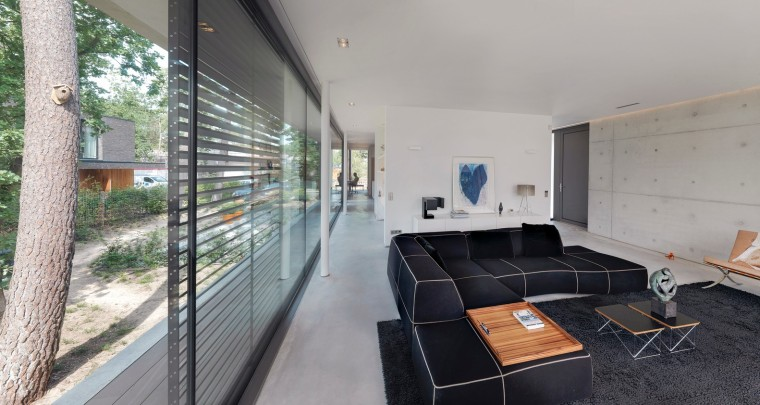 荷兰混凝土板组成的Zeist住宅-9