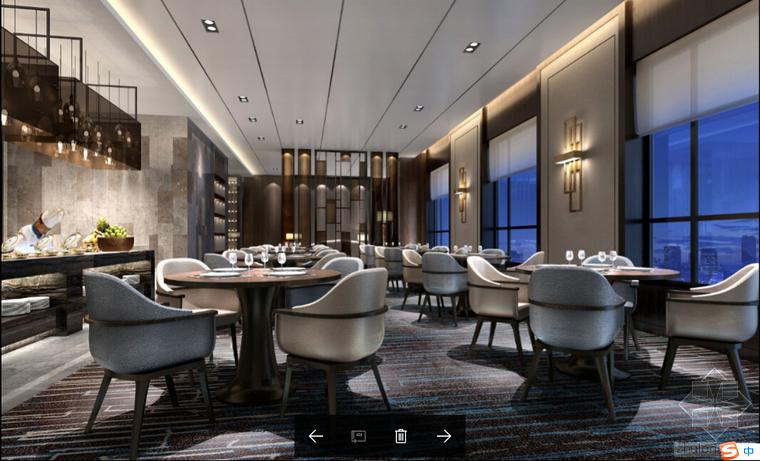 自己收集整理的10套酒店设计施工图、效果图,设计必备,力荐收藏
