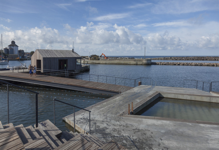 丹麦Hasle 海滨浴场