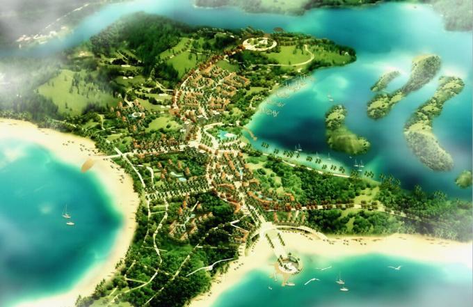 [海南]海湾概念性总体规划景观设计[ATKINS]