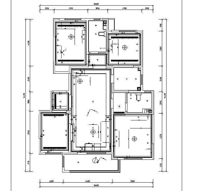 【山东】法式浪漫样板间设计施工图(附效果图)_4