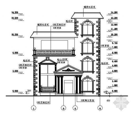 某私人住宅结构图纸