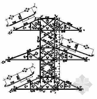 7716铁塔全套结构图纸