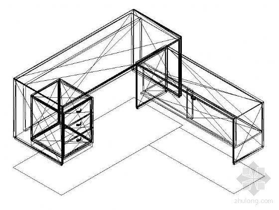 办公家具CAD模型4