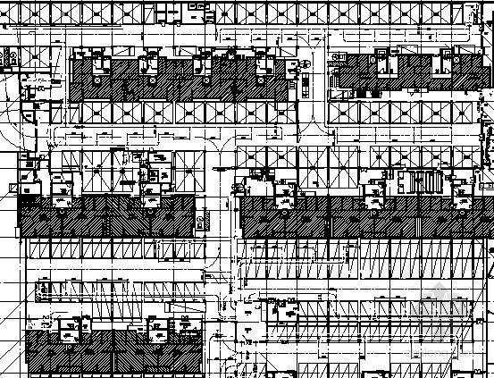 [上海]商品住宅群暖通空调设计施工图纸(会所)