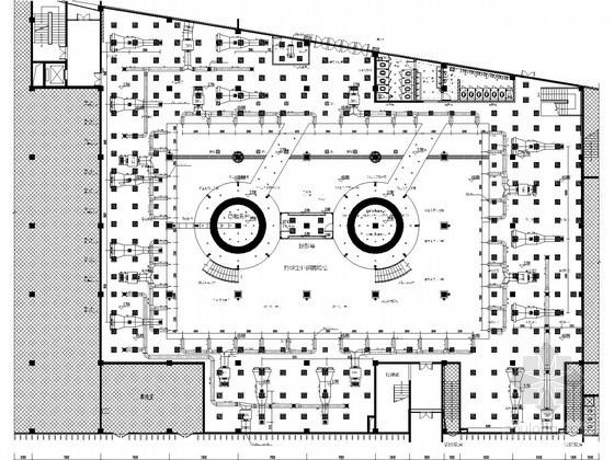 [重庆]学校园区办公楼空调排烟系统设计施工图