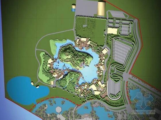 [珠海]度假村主题游乐园景观扩初设计方案