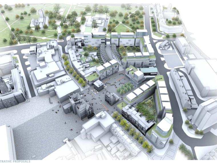 [国外]开放式道路街区景观环境规划方案设计