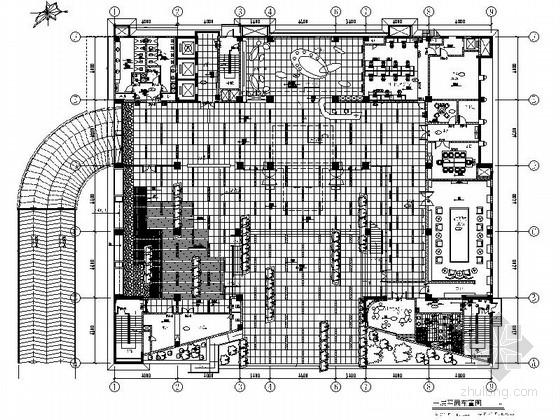 [珠海]国内知名互联网软件企业办公室装修设计施工图(含效果及实景)