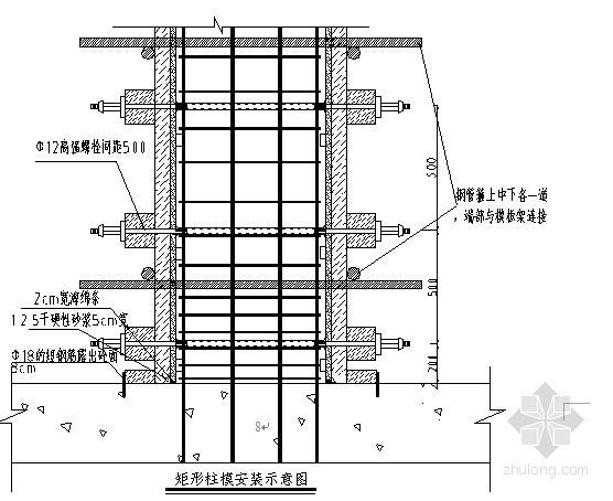 [广东]框架结构高档住宅区地下室模板工程施工方案