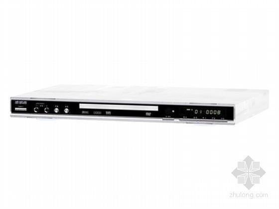 VCD播放器3D模型资料下载-品牌播放器3D模型下载