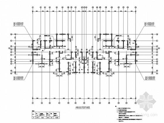 [广东]40层剪力墙结构超高层住宅楼结构施工图(含建施)