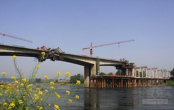 [湖北]跨江大桥宽7m长144m跨径12m贝雷桁架栈桥安全施工专项方案133页