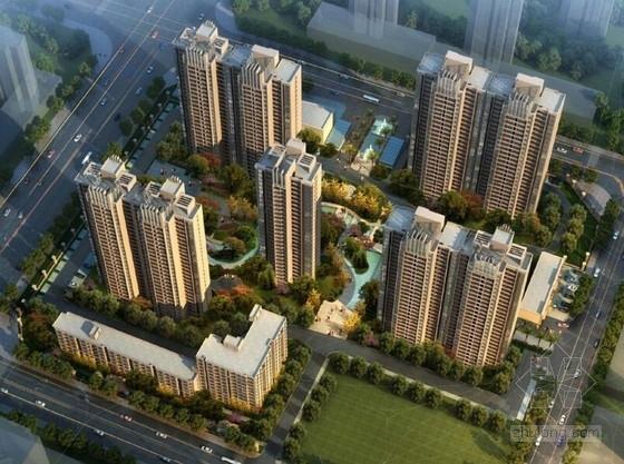 [广西]现代风格住宅小区景观设计方案
