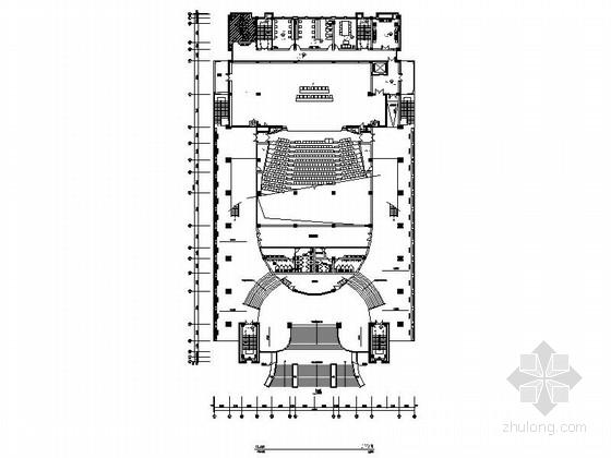 [台州]全日制普通高等职业技术学院现代综合楼装修施工图